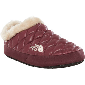 The North Face ThermoBall Tent Mule Faux Fur IV - Chaussons Femme - rouge